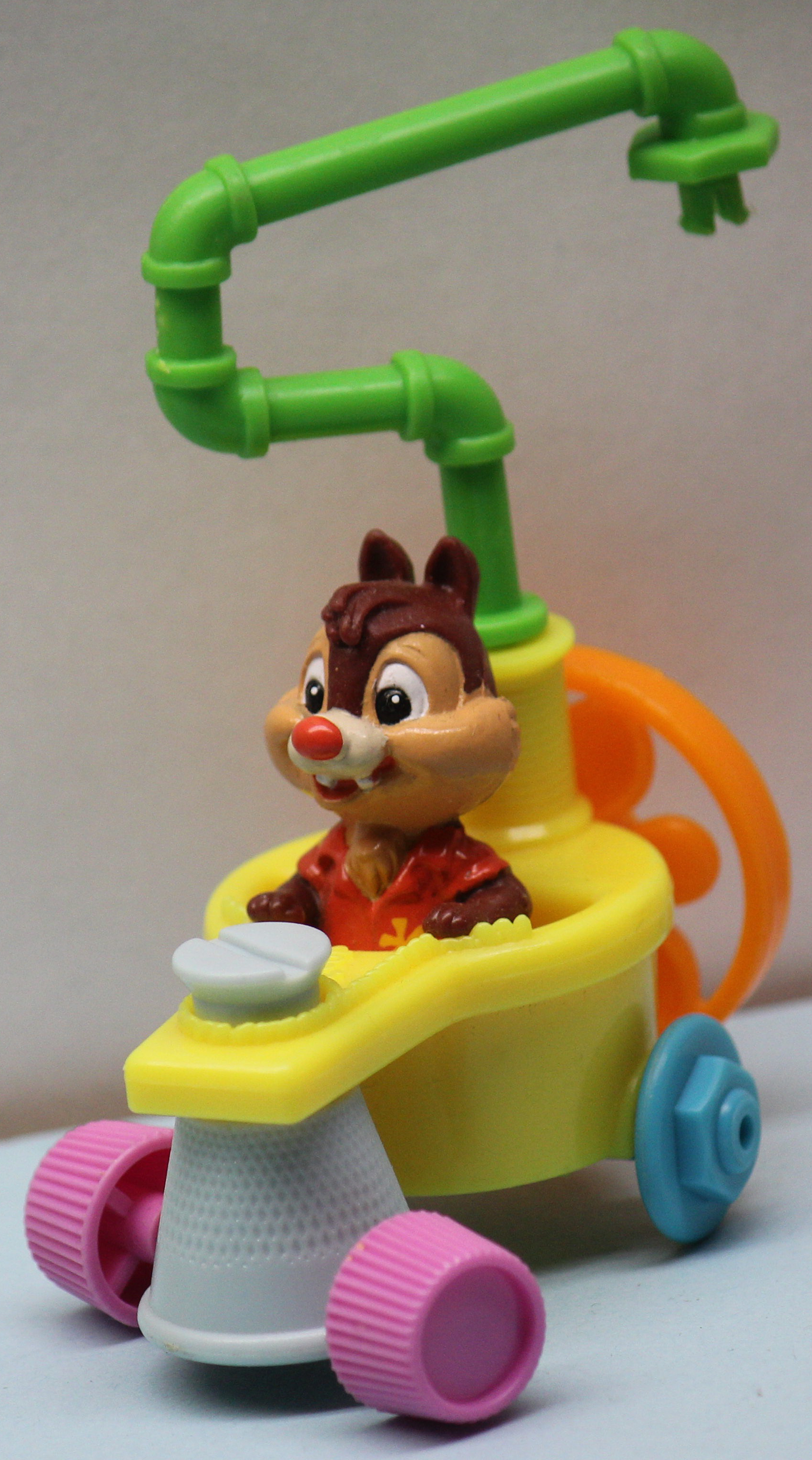 mcdonalds happy meal toys boxes chip dale rescue rangers disney